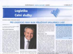 Pro logistické firmy bude příležitostí spolupráce sasií