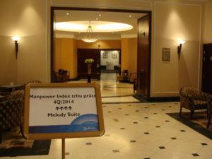 Tisková konference ManpowerGroup - Index trhu práce