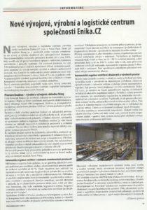 Nové vývojové, výrobní alogistické centrum společnosti Enika.cz
