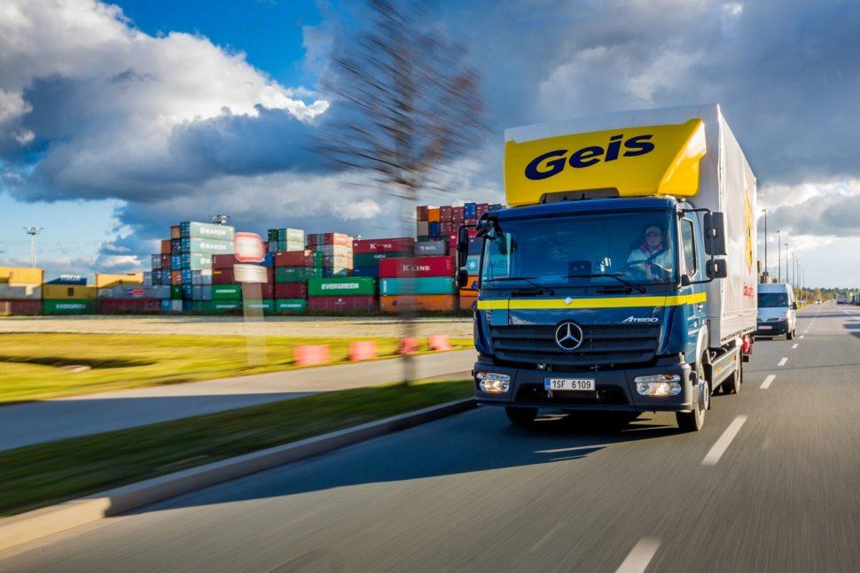 Geis nákladní automobil