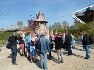 Park Mirakulum návštěva novinářů aprohlídka areálu