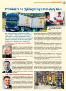 Časopis Transport alogistika - Geis